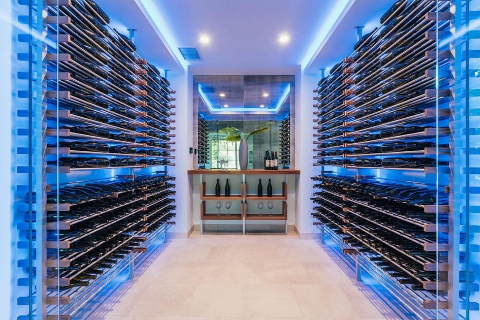 Une cave à vin XXL qui en jette