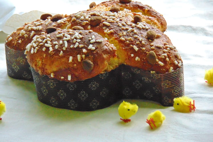 Colomba de Pâques, brioche italienne