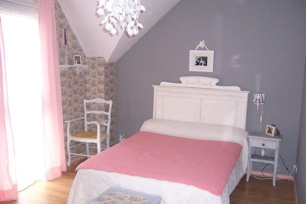 la chambre de corinne shabby chic. Black Bedroom Furniture Sets. Home Design Ideas