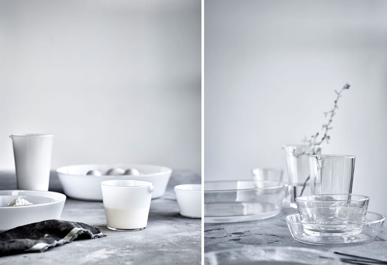carafes en verre souffl. Black Bedroom Furniture Sets. Home Design Ideas