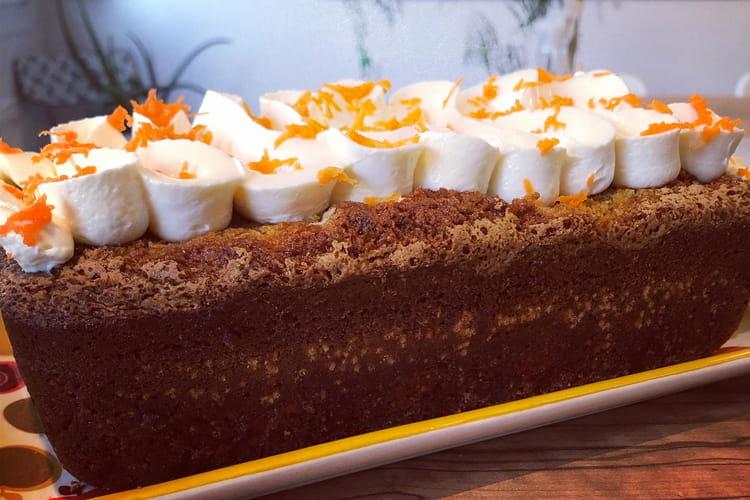 Carrot cake aux noix et à la cannelle