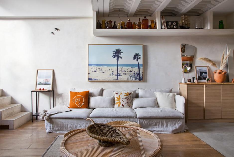 Plus de 45idées pour décorer le mur au-dessus du canapé