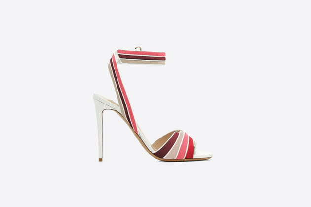 Sandales multicolores de Valentino