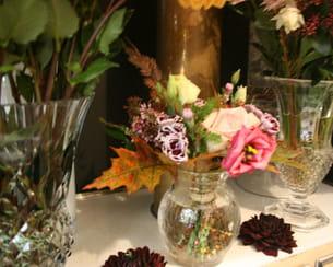 bouquet de roses imaginé par majid mohammad, styliste de fleurs chez muse