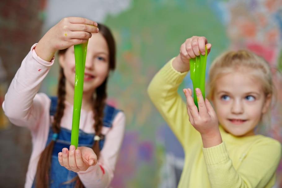 Slime: quels risques pour les enfants?
