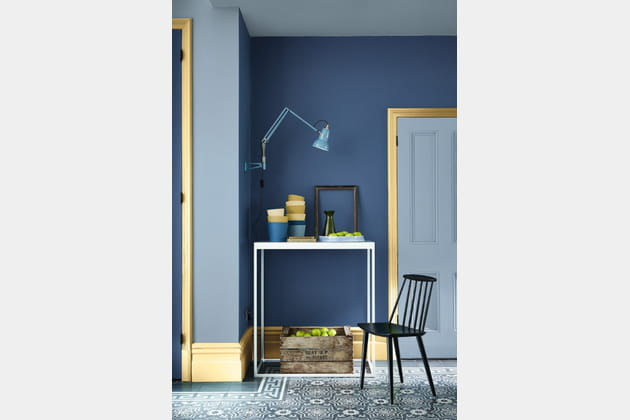 Peinture Woad, Greystone et Sunlight de Little Greene
