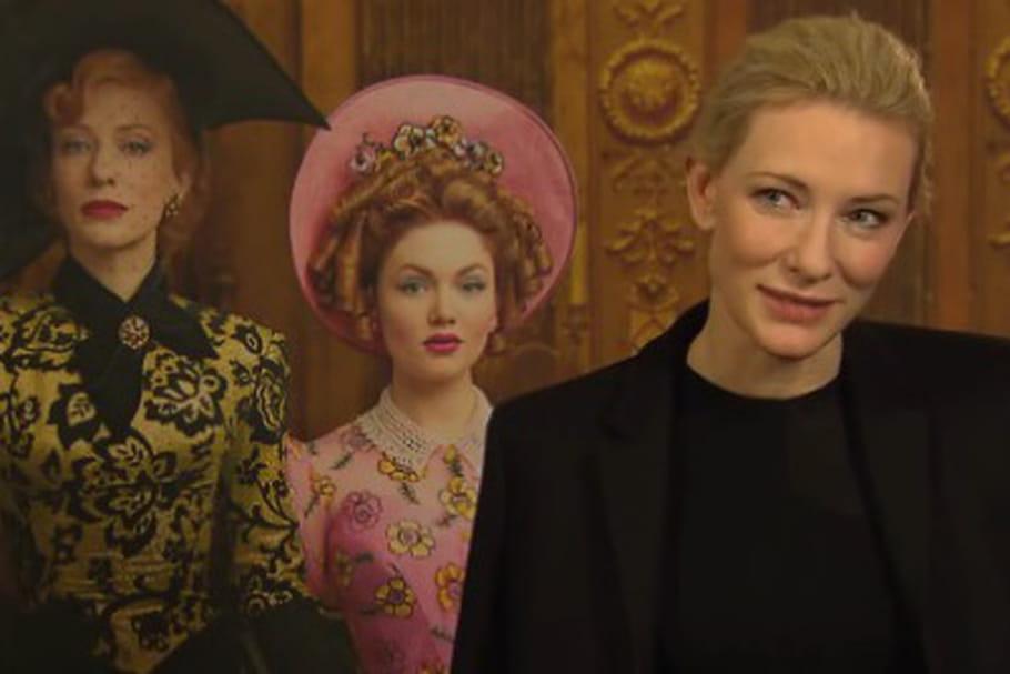 "Cate Blanchett : ""Cendrillon n'est pas une chiffe-molle"""