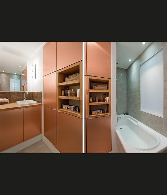 Une salle de bains entre chaud et froid