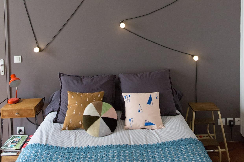 Comment Fabriquer Sa Tete De Lit 65 idées pour une tête de lit originale