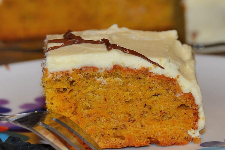 Gâteau d'Halloween au potiron et au miel