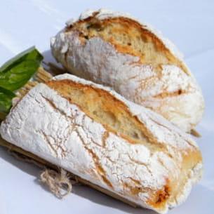 petits pains sans pétrissage basilic tomates
