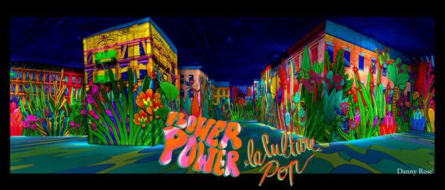 Carrières de lumières Flower Power 2018