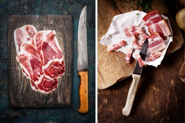 Jambon cru ou bacon?