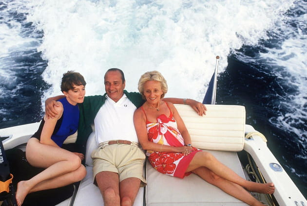 Jacques Chirac, bien entouré (1987)