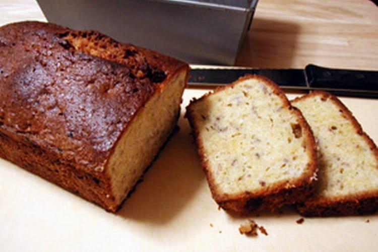 Cake aux noix, gingembre et coings