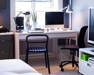 bureau micke d 39 ikea. Black Bedroom Furniture Sets. Home Design Ideas