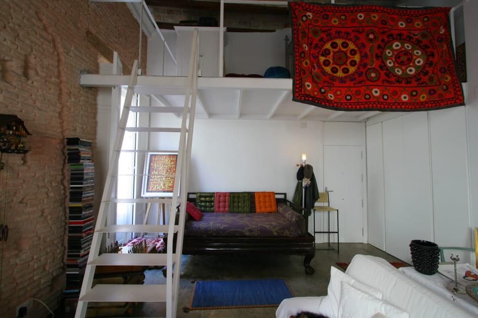 Une mezzanine gain de place