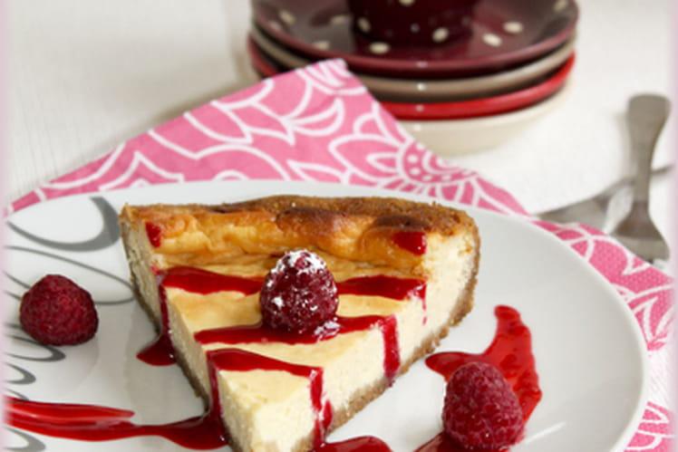 Cheesecake à la vanille et arôme citron