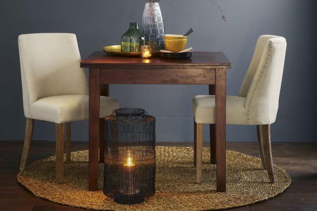 le tapis rond en jonc de mer. Black Bedroom Furniture Sets. Home Design Ideas