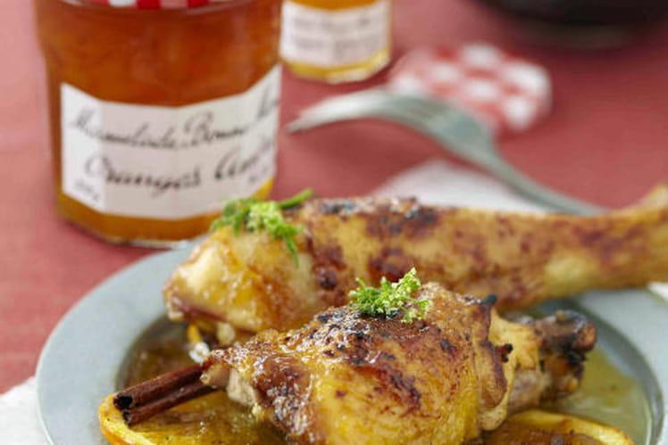 Tajine de poulet Marmelade d'Oranges Amères Bonne Maman