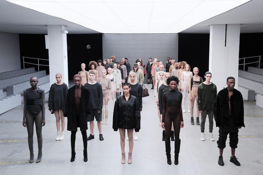 Le défilé mégalo de Kanye West pour Adidas Originals