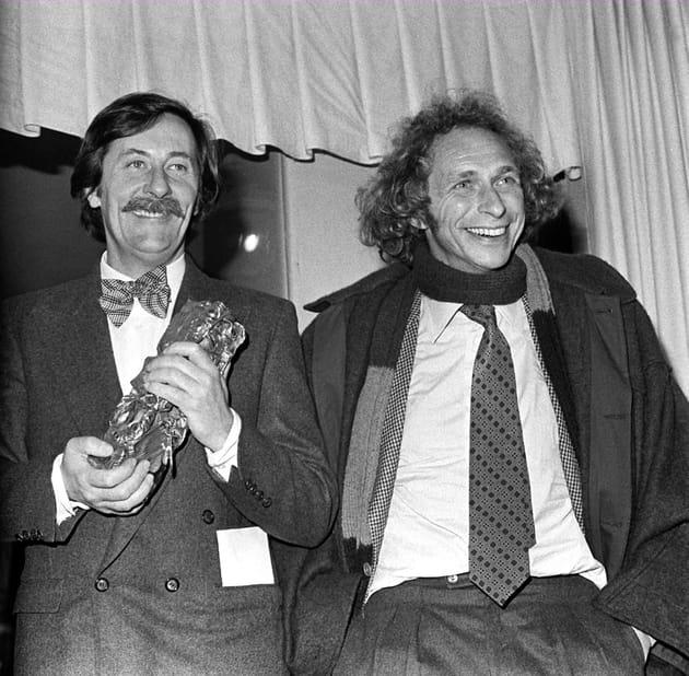 Aux César au 1976avec Pierre Richard