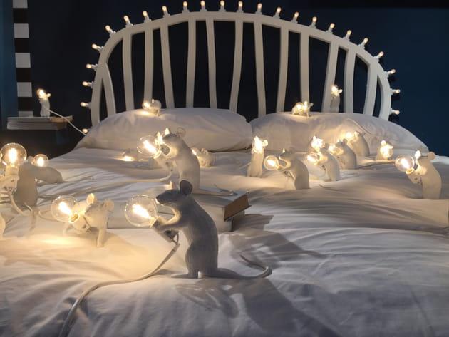 Les lampes Souris par Marcantonio Raimondi Malerba pour Seletti