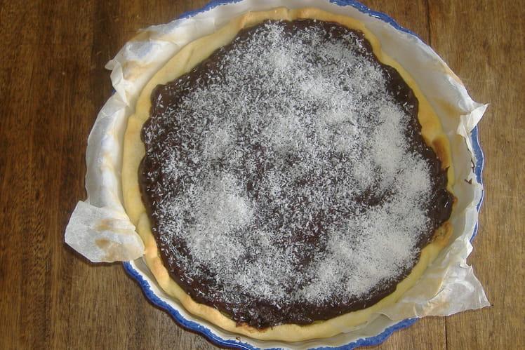 Tarte choco-coco