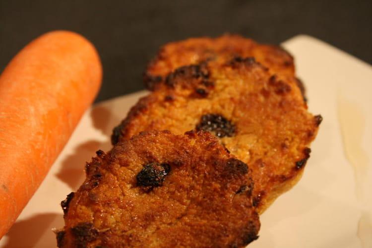 Biscuits de semoule aux carottes