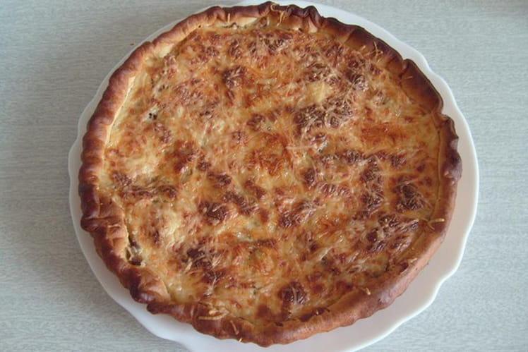 Tarte thon-champignons