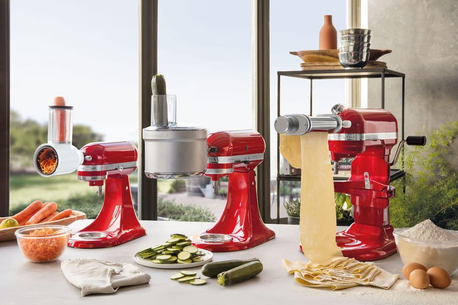 Les robots pâtissiers multifonctions, ces surdoués des cuisines