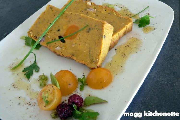 Terrine de potimarron et carottes aux épices