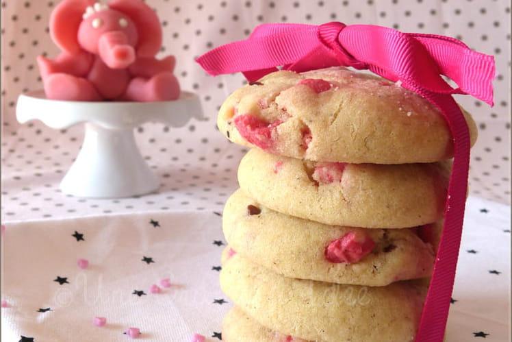 Cookies à la Praline Rose