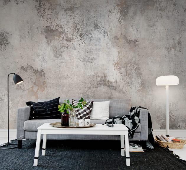 Papier peint panoramique Patina par Rebel Walls chez Au fil des Couleurs