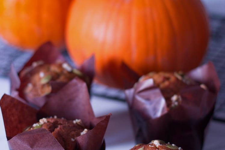 Muffins à la citrouille épicée