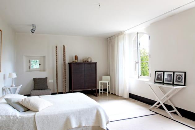 Une chambre blanche