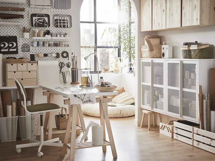 15ambiances qui ont fait du bureau IKEA un must