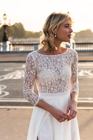 vente de sortie styles de mode réel classé Robe de mariée Alissa, Harpe Paris