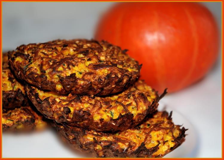 Recette de galette au potimarron et aux flocons d 39 avoine - Cuisiner un potimarron ...