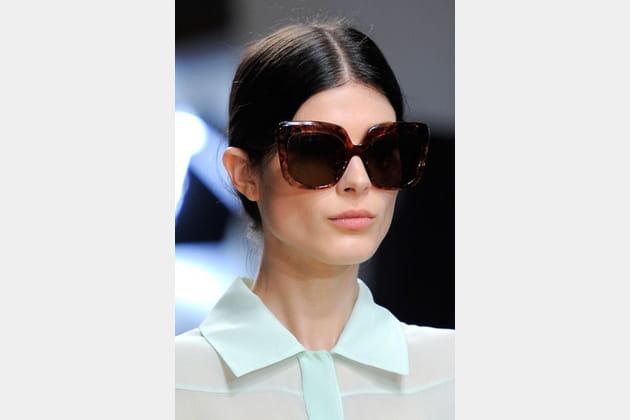 Les lunettes écaille de Damir Doma