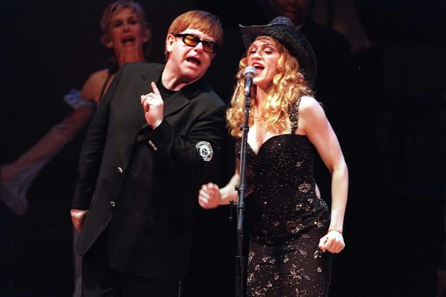 Elton John et Madonna: rivalité musicale