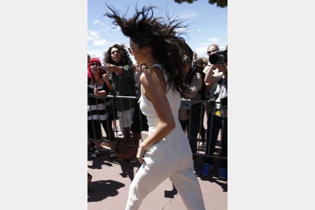 Kendall Jenner, sous le vent