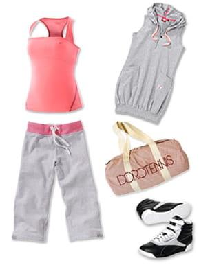 la tenue complète de fitness pour faire du sport, sans sacrifier son style.