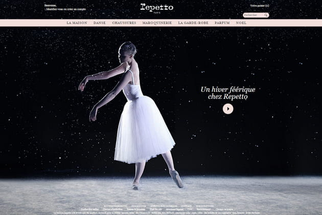 Le e-shop de Repetto
