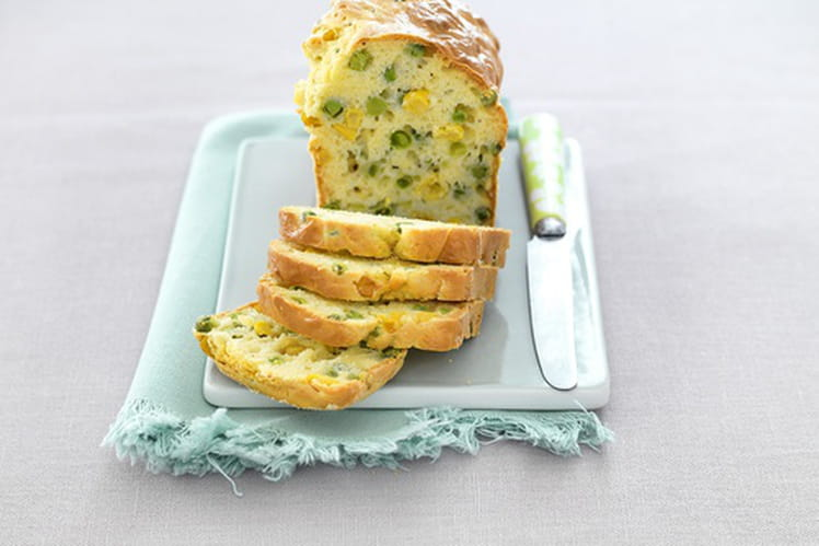Cakes de petits pois et maïs à la coriandre