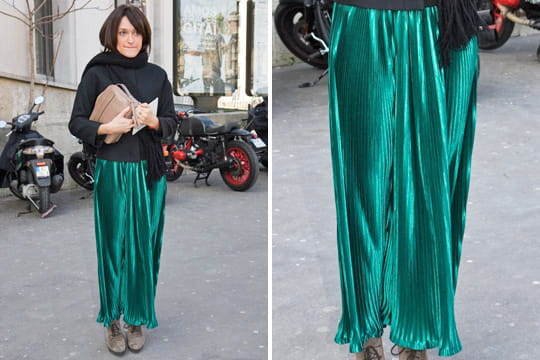 Fashion week : les street looks des défilés parisiens PAP automne-hiver 2011-2012 2
