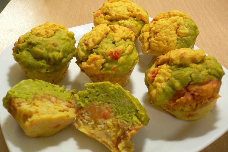 Muffins au guacamole