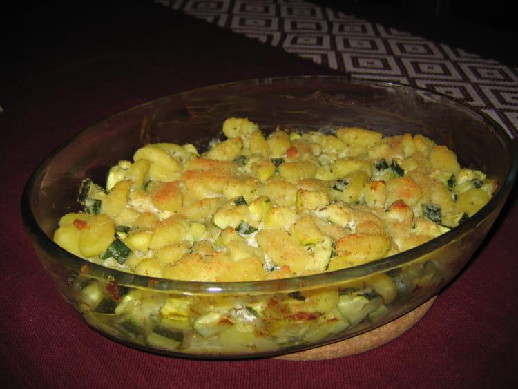 Gratin de gnocchis aux courgettes et au ch vre - Cuisiner des gnocchis ...