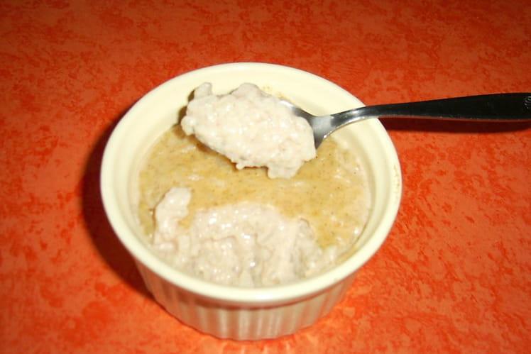 Riz au lait vanille-cannelle