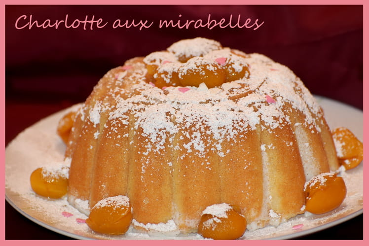 Charlotte aux mirabelles